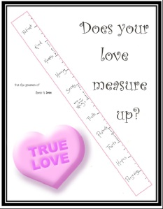true love printable